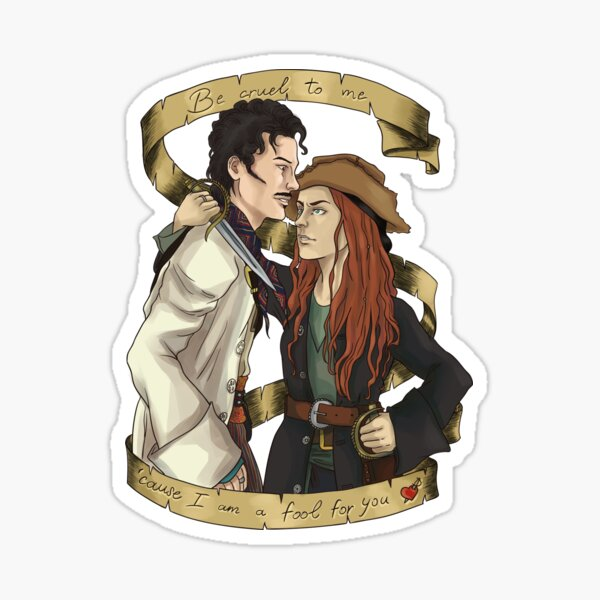 I'm a fool for you Sticker