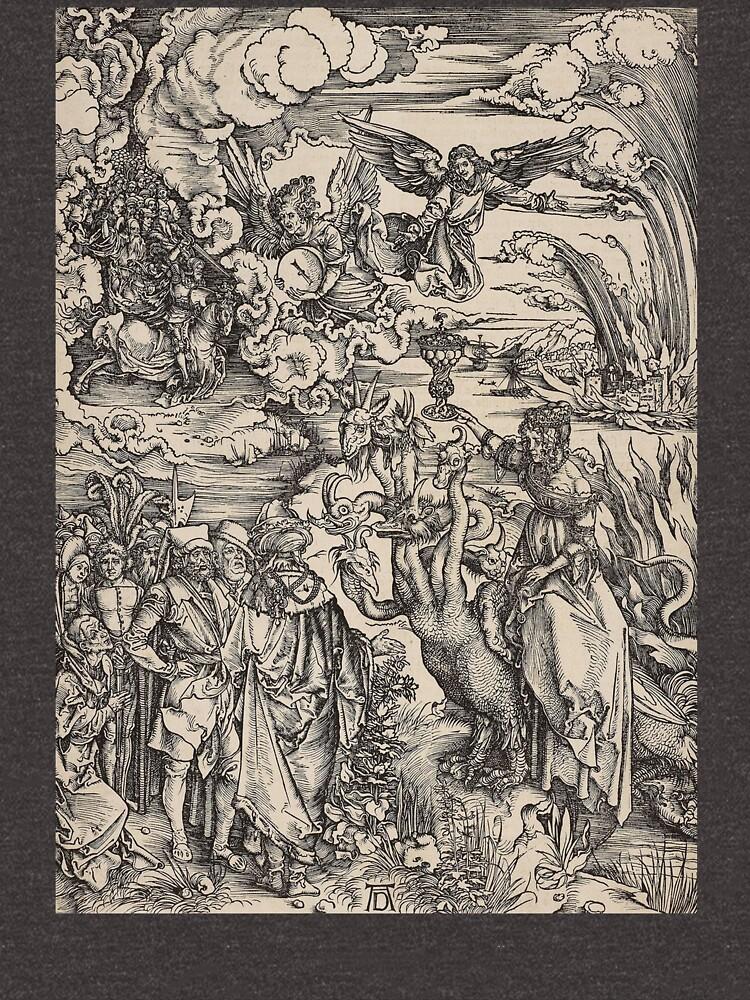 DURER. The Apocalypse. The Whore of Babylon, ALBRECHT DURER. by TOMSREDBUBBLE