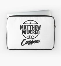 Matthew Tees Laptop Sleeve