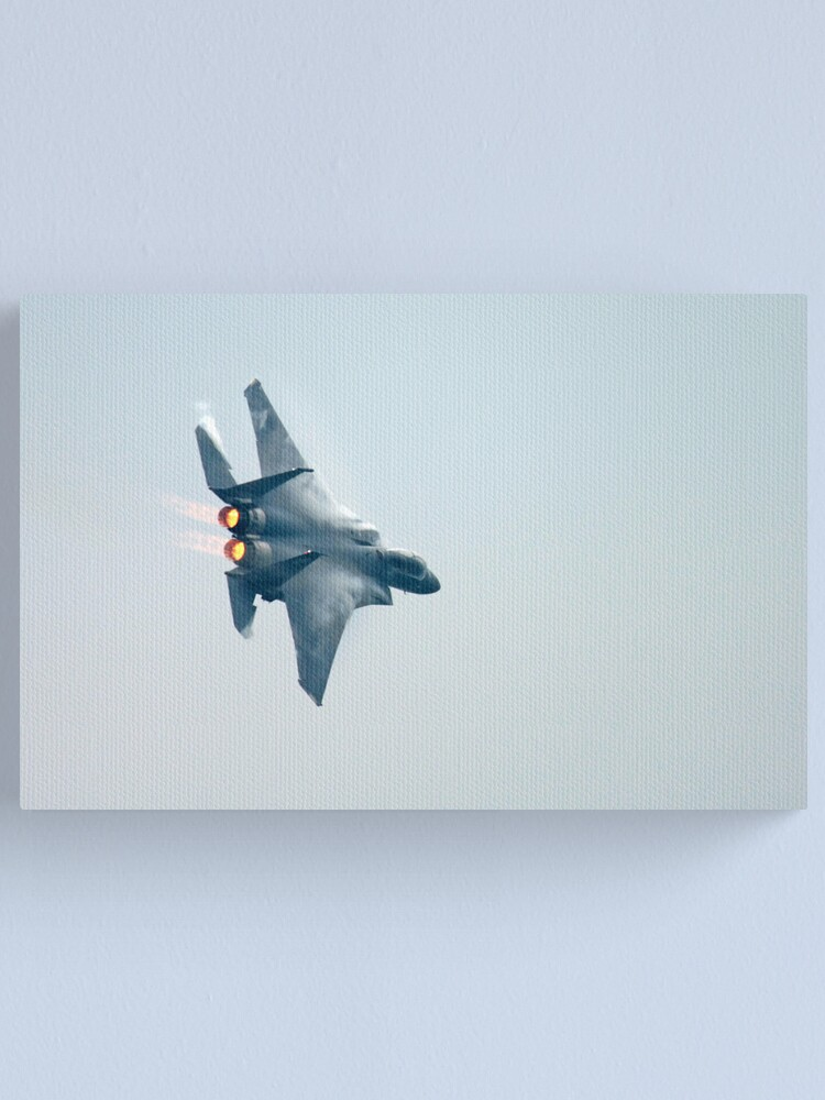 Alternate view of F-15 Canvas Print