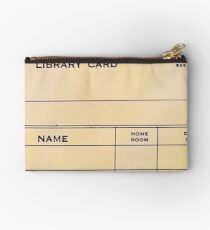 Lonely Library Card Studio Pouch