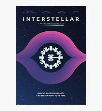 Interstellar - 'Ich gehe nach Hause' Fotodruck