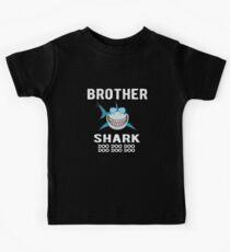 Camiseta para niños Hermano Tiburón Family Shark Matching Gift