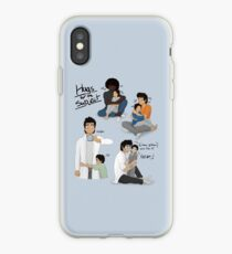 Hugs for the Subject! iPhone Case
