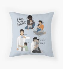 Hugs for the Subject! Throw Pillow