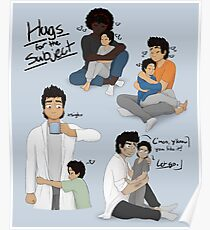 Hugs for the Subject! Poster