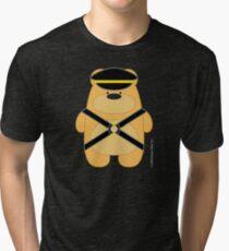 Bear Toy - Leather Blond Tri-blend T-Shirt