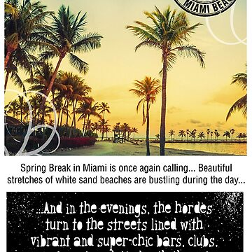 Miami Beach Springbreak by LeoZitro