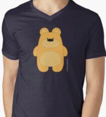 Bear Toy - Blond Men's V-Neck T-Shirt