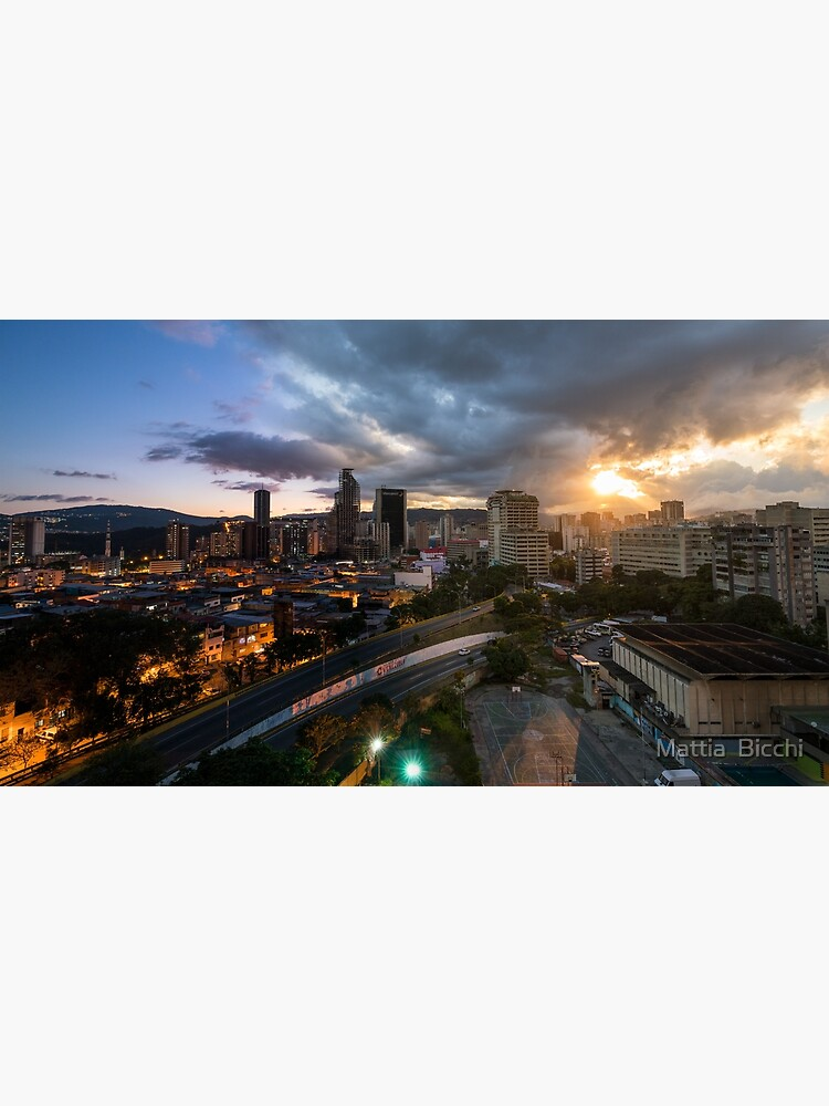 Caracas Skyline by mattside12