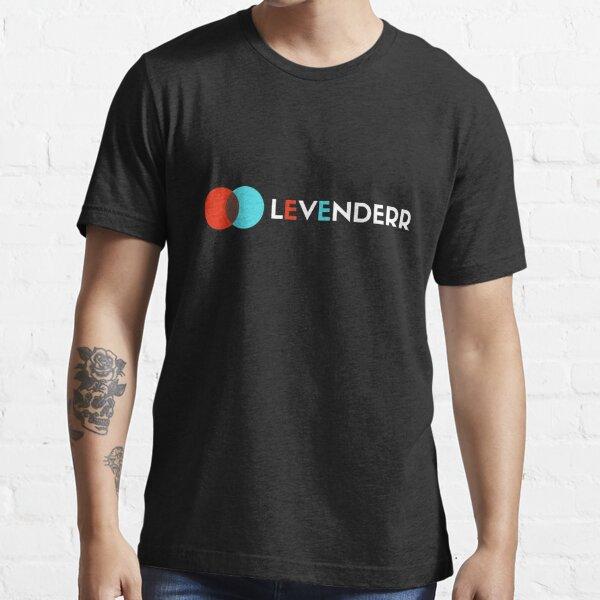 Levenderr - Dark Background Essential T-Shirt