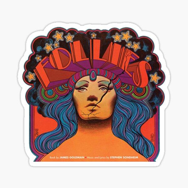 Follies musical  Sticker