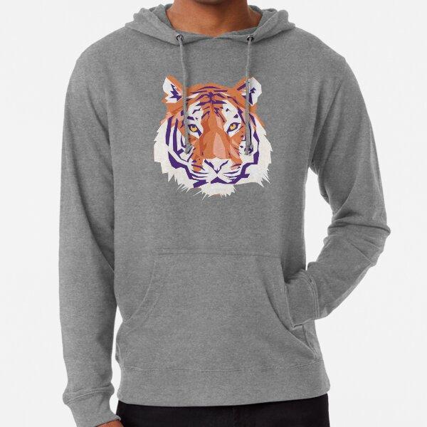 Geometric Clemson Tiger Lightweight Hoodie