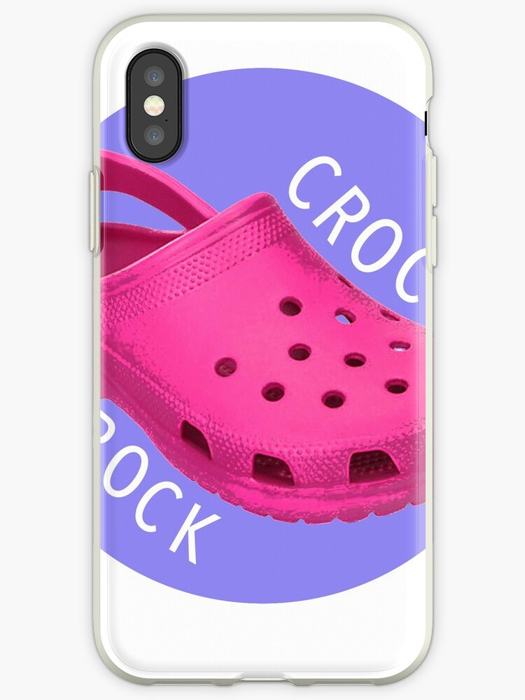 quality design 7e964 b94a7 'crocs <3' iPhone Case by abbybusis