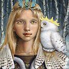 Snowy Owl by tanyabond