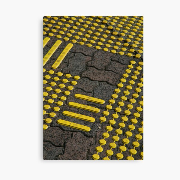 Yellow Car Park Project (6) Canvas Print