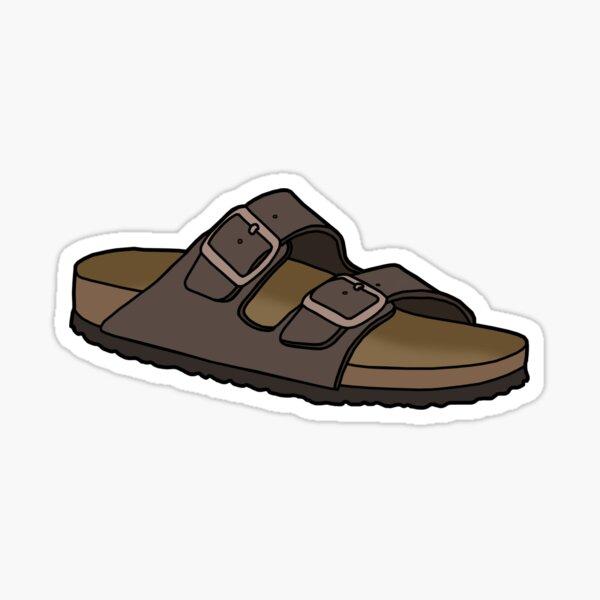 Birkenstocks Arizona Flip Flop Sandal Shoe Sticker