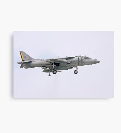 US Marine Harrier Canvas Print
