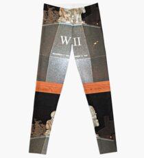 WW2 monument Leggings