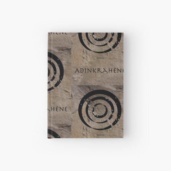 Adinkrahene Adinkra Symbol Hardcover Journal