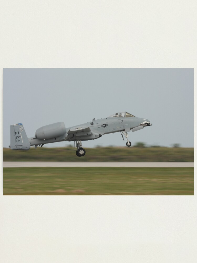 Alternate view of A-10 Thunderbolt Photographic Print