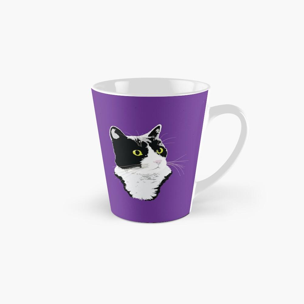 Regal Tuxedo Kitty Mug