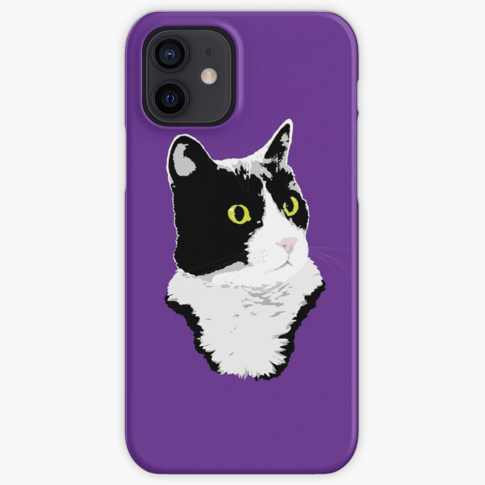 Regal Tuxedo Kitty iPhone Case & Cover