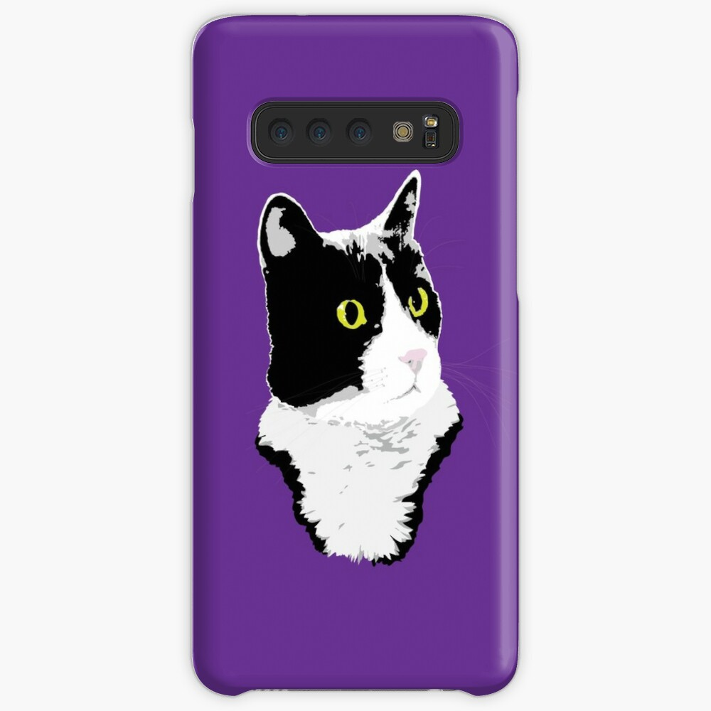 Regal Tuxedo Kitty Case & Skin for Samsung Galaxy
