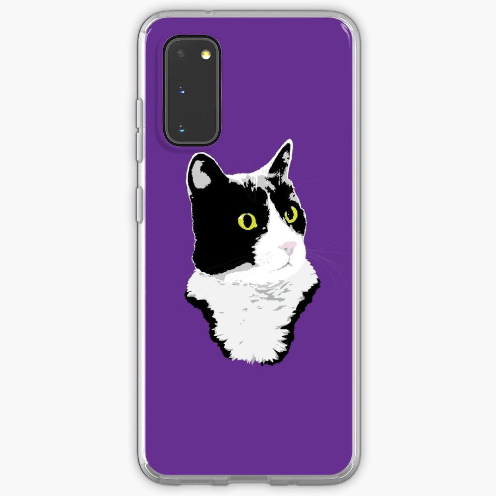 Regal Tuxedo Kitty Case & Skin for Samsung Galaxy