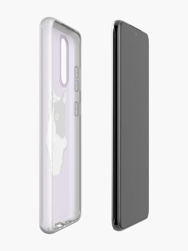 Alternate view of Regal Tuxedo Kitty Case & Skin for Samsung Galaxy