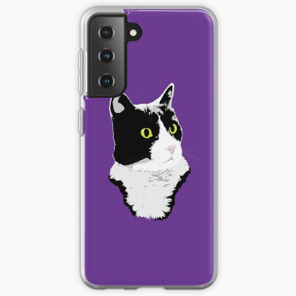 Regal Tuxedo Kitty Samsung Galaxy Soft Case