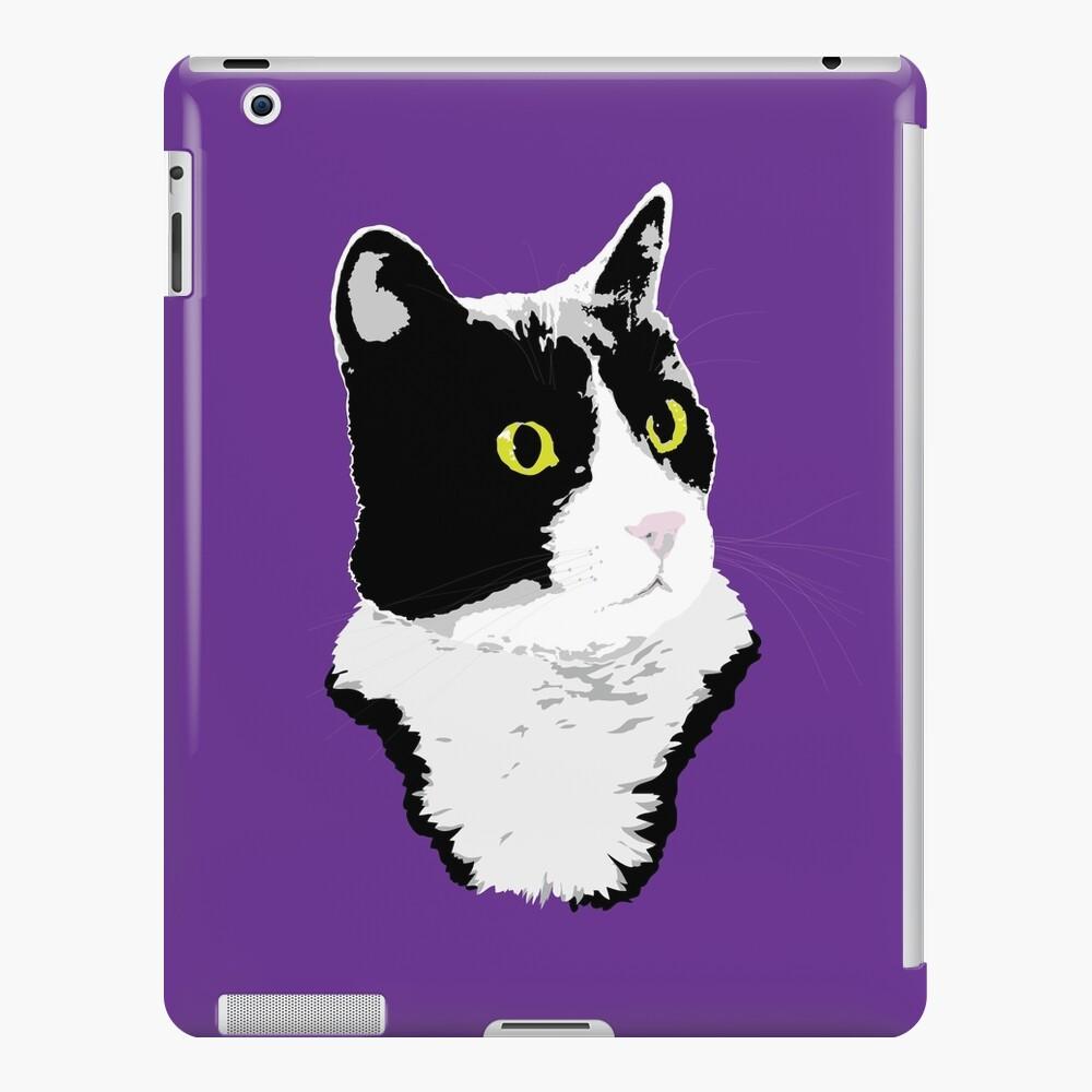 Regal Tuxedo Kitty iPad Case & Skin