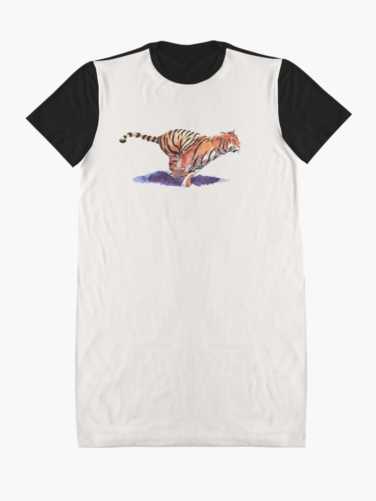Alternate view of The Tiger Graphic T-Shirt Dress