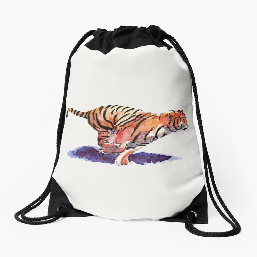 The Tiger Drawstring Bag