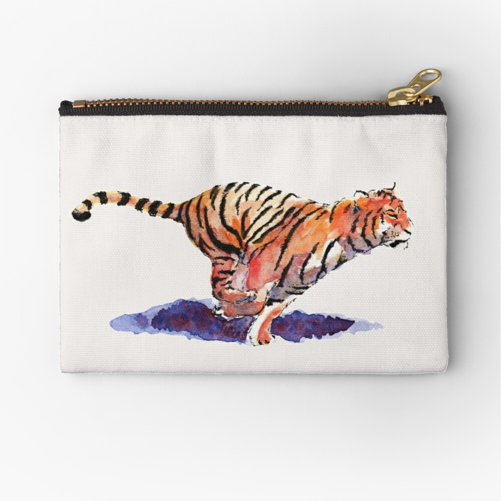 The Tiger Zipper Pouch