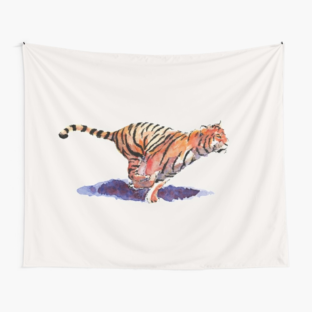 The Tiger Wall Tapestry