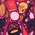 Witch Supplies in Wine by Paisley Hansen