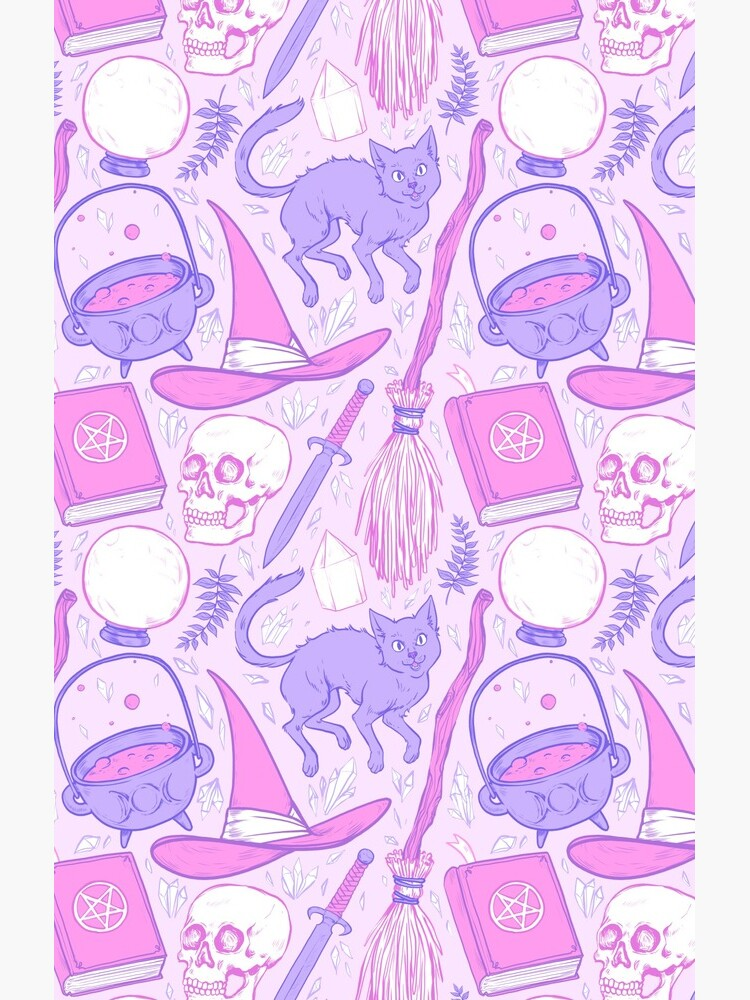 Witch Supplies in Pastel  by paisleydrawrrs