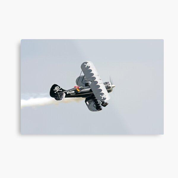 Bi-Plane Metal Print