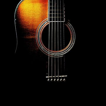 Colour Acoustic Guitar Hi-Lite by Ra12