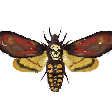 Death Moth by mkarap