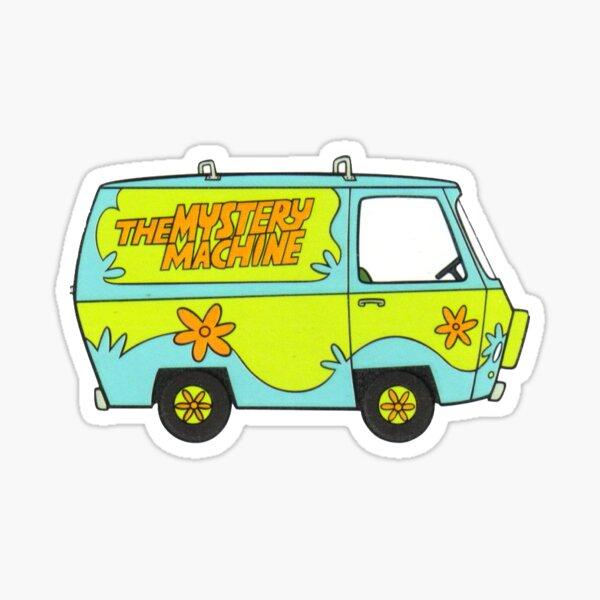 mystery machine from scooby doo Sticker
