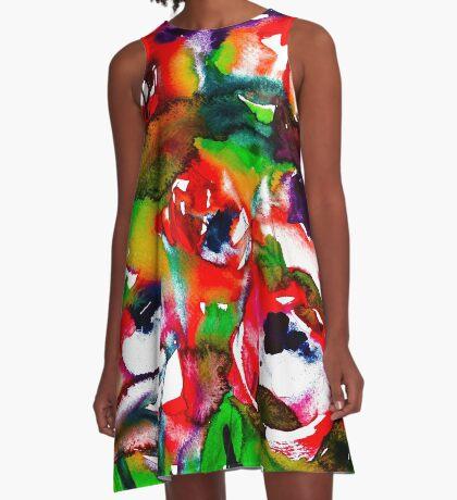 BAANTAL / Pollinate / Lust #2 A-Line Dress