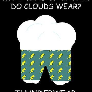 ThunderWear pun by TEOillustration