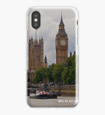 England - Big Ben from Thames iPhone Case/Skin