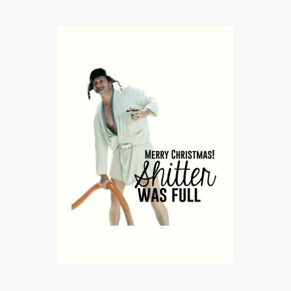Cousin Eddie: Merry Christmas Art Print