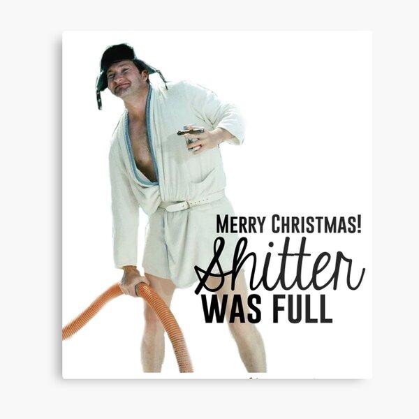 Cousin Eddie: Merry Christmas Metal Print