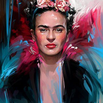 Frida Kahlo by dbelov