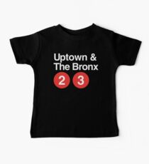 Uptown & The Bronx Baby Tee