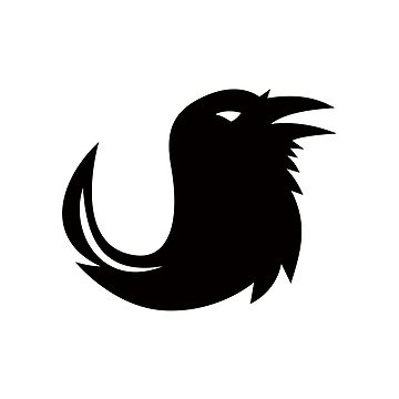 Crow Quill Pen Tail Icon by patrimonio